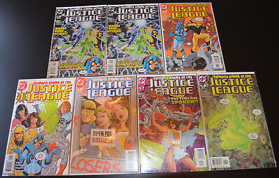 FORMERLY KNOWN AS THE JUSTICE LEAGUE (7-Book) DC LOT #1 2 3 4 5 5 6 (NM+)