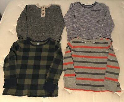 GUC Boy's 4T/5T Old Navy Long-Sleeve Sweaters Tops LOT of 4