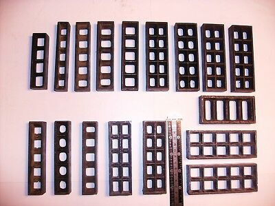 Assorted Letterpress Chase Furniture Spacers 17 Pieces