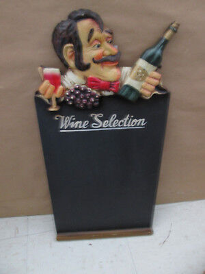 Wooden Wine Selection Sign / Chalkboard