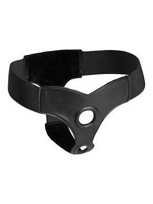 Strap U - Strap on - Double pénétration Sangle Harnais - Noir