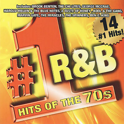 Various Artists : Number 1 R&B Hits of the 70s CD