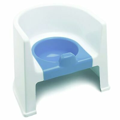 The Neat Nursery Co. Child / Kids Potty Training Chair - White / Blue