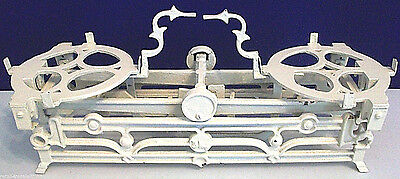 Antique 3Kg Balance Scale Cast Iron White Cream Color Vintage Home Decor Rare