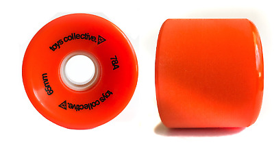 Toys Collective Stone Ground Cruiser Wheels Skateboard Longboard 78A 65mm Orange