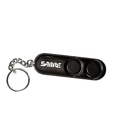 SABRE Personal Alarm with Key Ring - Black