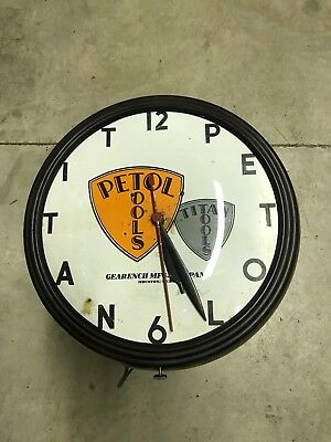Vintage Petol/Titan Tools Advertising Clock