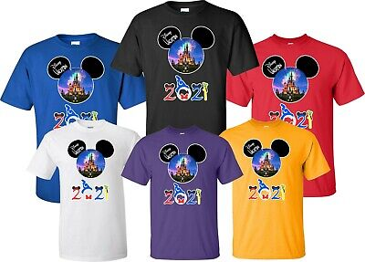 FAMILY VACATION Disney New 2019 Mickey & Minnie T-Shirts ALL SIZES 12 MONTH-4XL