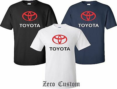 TOYOTA T SHIRT Corolla Camry 86 Prius  Tundra Avalon Cool Nice All Sizes S - 4XL