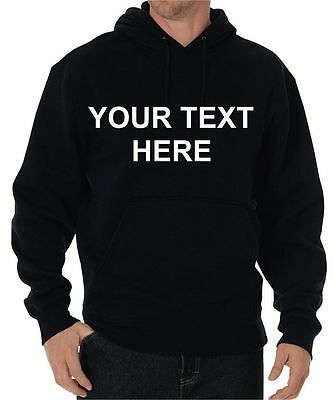 Personalized Custom Hoodie Sweatshirt  your own text design all sizes or photo