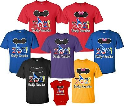 FAMILY VACATION Disney  trip 2019 T-shirts All Sizes Minnie Mickey all sizes New