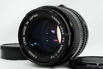 【Exc+++】Canon New FD 50mm F/1.4 NFD Standard Manual Lens From Japan #363