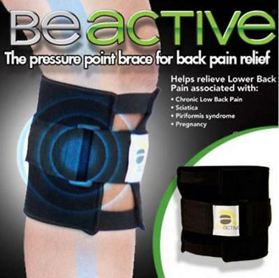 Be active Brace Pad Leg for Back Pain Acupressure Sciatic Nerve Relief