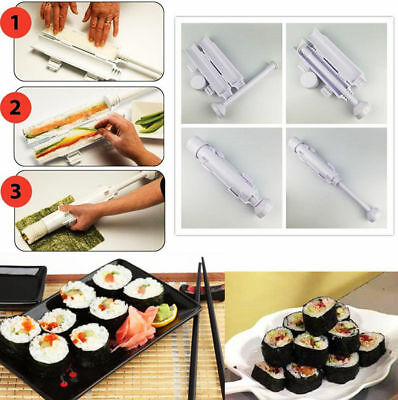 Sushi Bazooka Tool Sushi Roll Maker Kitchen Appliance Gourmet Cooking Tube Mold