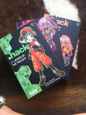 dot Hack - Legend of the Twilight Manga Comic Band 1 bis 3 (komplett)