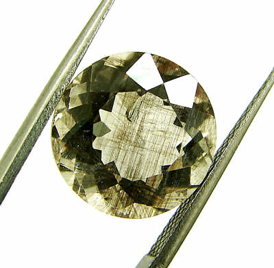 6.15 Ct Certified Natural Beautiful Scapolite Loose Round Gemstone Stone- 130514