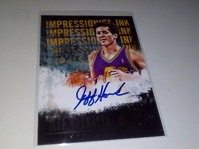 Autographic Card Jeff Hornacek Court Kings 13-14