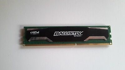 Crucial BLS4G3D1609DS1S00 (4GB, PC3-12800 (DDR3-1600), DDR3 SDRAM, 1600 Mhz,...