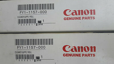 2 x CANON CLEANER SUPPLY ROLLER (WEB) EY1-1157-000 NEU