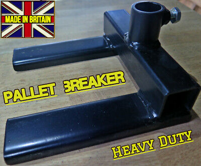 Pallet Breaker tool disassembly pry bar attachment Made In Britain