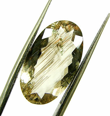 6.02 Ct Certified Natural Beautiful Scapolite Loose Oval Gemstone Stone- 130504