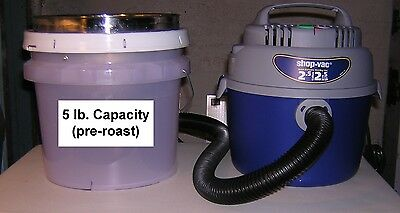 5 lb CAPACITY Cooler/Dechaffer for Cooling & Dechaffing Roasted Coffee Beans