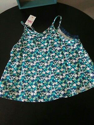 New Girls Floral Tank Top by Justice Size 6