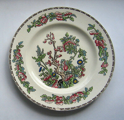 Alfred Meakin China  LUNCH /  SALAD PLATE  -  Mediana Indian Tree Pattern 8in