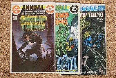 Swamp Thing (2nd Series Annual 1982) Issues #1 #2 #4