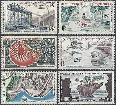 New Caledonia Pa N°66/71 - Obliteration Stamp Has Date