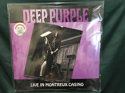 Deep Purple Live in Montreux Casino Numbered Edition Clear Vinyl OVP SEALED!!!
