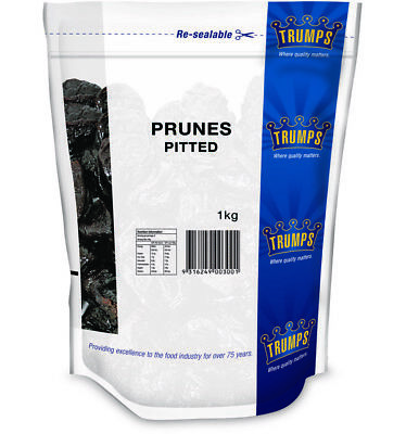 Trumps Pitted Prunes 1kg