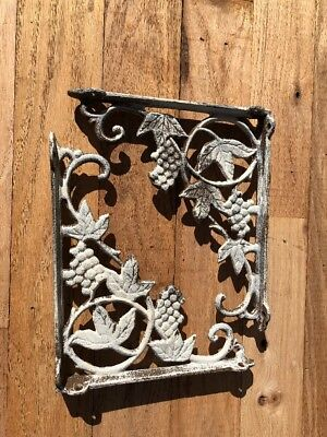 Pair Of Cast Iron Shelf Brackets Farmhouse DIY Projects 9""