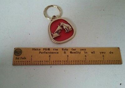 Vintage RCA Victor His Masters Voice Key Chain RCA Ruler