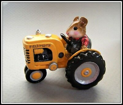 Wee Forest Folk Field Mouse (yellow) Brand New in Bag! M-133 --Retired--