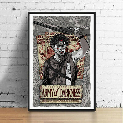 Army of Darkness Ash 11 x 17 Movie Poster Horror Art Poster