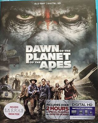 Dawn of the Planet of the Apes - NEW Blu-ray - SEALED - With Slipcover