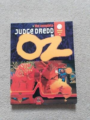 The Complete Judge Dredd in Oz Graphic Novel 1994 titan books