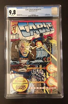 Cable: Blood and Metal #1 - CGC 9.8 - (Marvel Comics, 10/92)