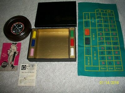Vintage Pleasantime Roulette Game No.132.  Pacific Game Co. In Box W/extra Ball