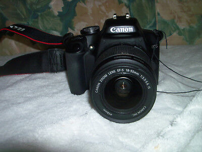 Canon Rebel XS EOS Digital with 18-55mm f 3.5 Lens