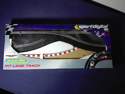 Scalextric Sport Digital Boxengasse , links , OVP