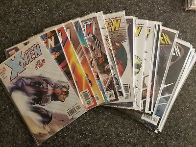 Uncanny X-Men Lot: Issues #431-449 complete run, 452-453 All VF- to NM Read Once