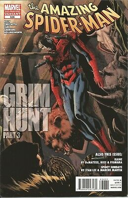 Amazing Spider-Man #636 2nd PRINT VARIANT Cover   FN+   Kaine   Marvel Comics
