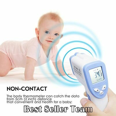 Forehead Infrared Thermometer Non-Contact Body Digital Thermometer with LCD