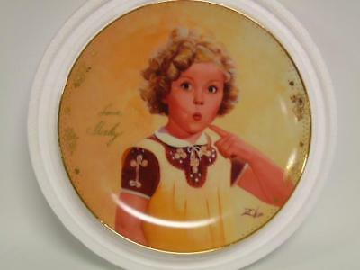 """New~ Shirley Temple """"One in a Million"""" Collectors plate ~ Danbury Mint"""