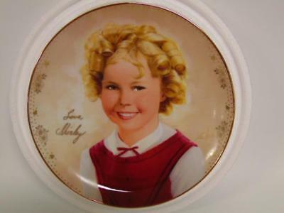 """New~ Shirley Temple """"America's Sweetheart"""" Collectors plate ~ Danbury Mint"""