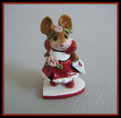 Wee Forest Folk Special Delivery (red glitter) - M-305 --Limited/Retired--