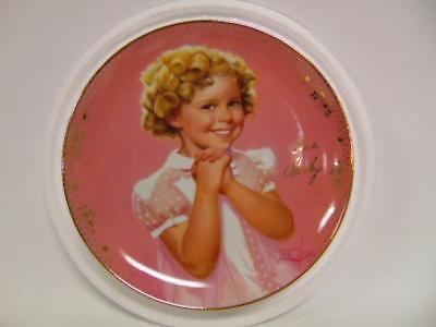 """New~ Shirley Temple """"Something Special"""" Collectors plate ~ Danbury Mint"""