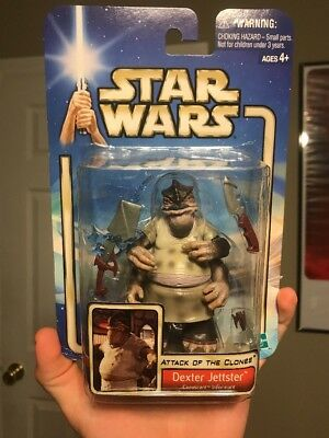 Star Wars Dex Action Figure Attack Of The Clones MIB